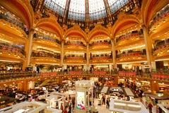 Κατάστημα του Λαφαγέτ Galeries, ορόσημο, λεωφόρος αγορών, κτήριο, μητρόπολη στοκ εικόνα