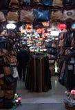 Κατάστημα του Μαρακές Arte στην οδό αγορών Sindicat Στοκ Φωτογραφία