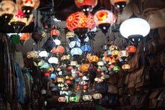 Κατάστημα του Μαρακές Arte στην οδό αγορών Sindicat Στοκ Φωτογραφίες
