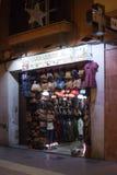 Κατάστημα του Μαρακές Arte στην οδό αγορών Sindicat Στοκ φωτογραφίες με δικαίωμα ελεύθερης χρήσης