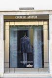 Κατάστημα του Giorgio Armani στη Ρώμη, Ιταλία Στοκ φωτογραφίες με δικαίωμα ελεύθερης χρήσης