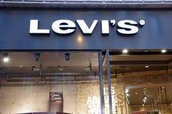 κατάστημα του Levi s Στοκ εικόνες με δικαίωμα ελεύθερης χρήσης