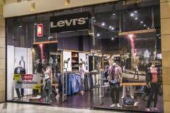 κατάστημα του Levi s Στοκ Φωτογραφία