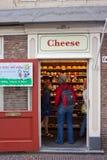 Κατάστημα τυριών στο Άμστερνταμ στοκ φωτογραφίες