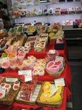 Κατάστημα φρούτων παντοπωλείων Στοκ Εικόνες