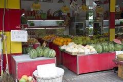 Κατάστημα φρούτων Στοκ εικόνα με δικαίωμα ελεύθερης χρήσης