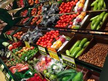 Κατάστημα φρούτων Στοκ εικόνες με δικαίωμα ελεύθερης χρήσης