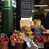 Κατάστημα φρούτων Στοκ Εικόνα