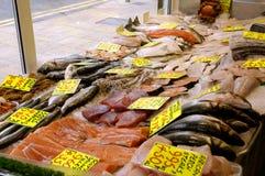 κατάστημα ψαριών Στοκ Φωτογραφίες