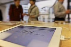 κατάστημα 2 μήλων ipad Στοκ εικόνα με δικαίωμα ελεύθερης χρήσης