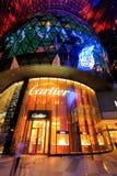 Κατάστημα Cartier στο ιόν οπωρώνων στοκ εικόνες
