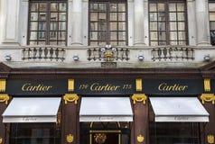 Κατάστημα Cartier στο Λονδίνο στοκ φωτογραφία με δικαίωμα ελεύθερης χρήσης