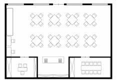Κατάστημα Coffe floorplan στοκ εικόνα με δικαίωμα ελεύθερης χρήσης