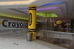 Κατάστημα Crayola στη λεωφόρο της Αμερικής στο Μπλούμινγκτον, Μινεσότα στοκ εικόνες