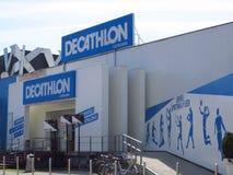 Κατάστημα Decathlon στη Σλοβενία Λουμπλιάνα στοκ εικόνα