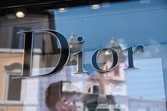 Κατάστημα Dior Στοκ Εικόνα