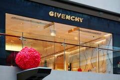 Κατάστημα Givenchy στις άμμους Shoppes κόλπων μαρινών Στοκ Εικόνες