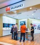 Κατάστημα Huawei σε Suria KLCC, Κουάλα Λουμπούρ Στοκ Φωτογραφία