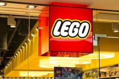 Κατάστημα Lego στοκ εικόνες