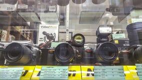 Κατάστημα Nikon Στοκ Εικόνες