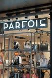Κατάστημα Parfois Στοκ φωτογραφίες με δικαίωμα ελεύθερης χρήσης