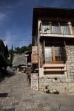 Κατάστημα Souveneers στον παλαιό ευρωπαϊκό φραγμό πόλης Stari, Μαυροβούνιο Στοκ Φωτογραφία