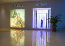 κατάστημα versace Στοκ Εικόνα