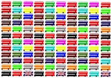 κατάστρωμα διπλή Αγγλία Λονδίνο διαδρόμων Στοκ φωτογραφία με δικαίωμα ελεύθερης χρήσης