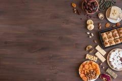 Μεσο-Ανατολικά γλυκά στοκ εικόνες με δικαίωμα ελεύθερης χρήσης