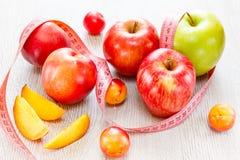 Κατάταξη του juicy υποβάθρου φρούτων Στοκ εικόνα με δικαίωμα ελεύθερης χρήσης