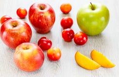 Κατάταξη του juicy υποβάθρου φρούτων Στοκ Εικόνες