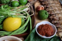 Κατάταξη των ταϊλανδικών μαγειρεύοντας συστατικών τροφίμων Συστατικά καρυκευμάτων Στοκ εικόνα με δικαίωμα ελεύθερης χρήσης
