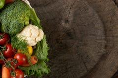 Κατάταξη των φρέσκων λαχανικών Στοκ Εικόνες