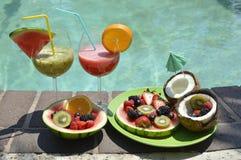 Κατάταξη των φρούτων και των χυμών Στοκ Εικόνα