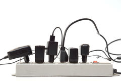 Κατάχρηση του φραγμού ηλεκτρικής δύναμης Στοκ Εικόνες