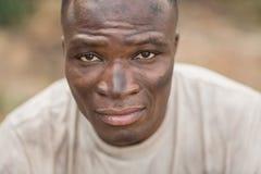 Κατάλληλο άτομο στο στρατόπεδο μποτών Στοκ Φωτογραφία