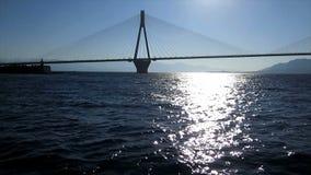κατά μήκος της γέφυρας απόθεμα βίντεο