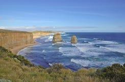 Κατά μήκος του μεγάλου ωκεάνιου δρόμου, Βικτώρια, Αυστραλία στοκ εικόνες με δικαίωμα ελεύθερης χρήσης