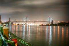 Κατά μήκος του ποταμού σαβανών στοκ φωτογραφίες με δικαίωμα ελεύθερης χρήσης