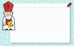 Κατάλογος Αγίου Nichola Στοκ φωτογραφία με δικαίωμα ελεύθερης χρήσης