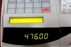 Κατάλογος μετρητών με την παραλαβή καταλόγων μετρητών Στοκ φωτογραφία με δικαίωμα ελεύθερης χρήσης