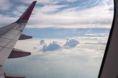 Κατά την πτήση Στοκ Φωτογραφία