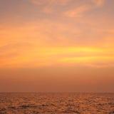 Κατά τη διάρκεια του ηλιοβασιλέματος βραδιού Στοκ Φωτογραφίες