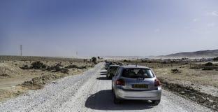 Κατά τη διαδρομή σε MIdburn Ισραήλ Στοκ Εικόνες