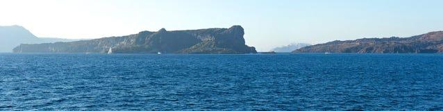 Κατά τη διαδρομή σε Santorini. Στοκ φωτογραφία με δικαίωμα ελεύθερης χρήσης