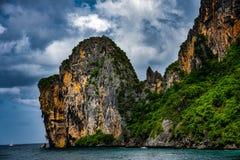 Κατά τη διαδρομή PHI PHI στο νησί Phuket στοκ φωτογραφίες