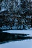 Κατά το ήμισυ παγωμένος Στοκ εικόνες με δικαίωμα ελεύθερης χρήσης