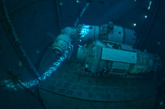 Κατάδυση διαστημοπλοίων Στοκ Εικόνες