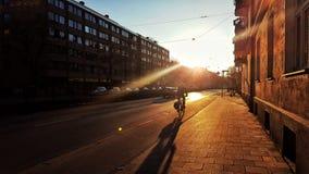 κατάδυση στο ηλιοβασίλεμα Στοκ Φωτογραφία