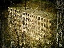 Κατέστρεψε ένα ατελές κτήριο Στοκ εικόνα με δικαίωμα ελεύθερης χρήσης
